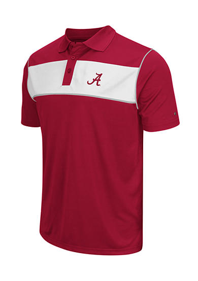 Colosseum Athletics Alabama Crimson Tide Flipshot Polo Shirt