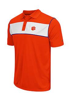 Colosseum Athletics Clemson Tigers Flipshot Polo Shirt