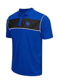 Colosseum Athletics Kentucky WIldcats Flipshot Polo Shirt