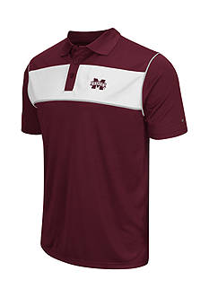 Colosseum Athletics Mississippi State Bulldogs Flipshot Polo Shirt