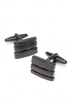 Kenneth Cole Reaction Square Gunmetal Cufflinks
