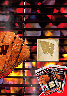 Fanmats NCAA Wisconsin Badgers Fan Brand 2-Pack