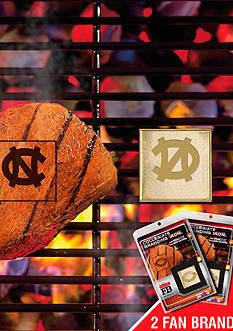Fanmats NCAA North Carolina Tar Heels Grilling Fan Brand 2-Pack