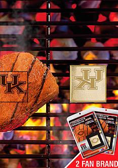 Fanmats NCAA Kentucky Wildcats Grilling Fan Brand 2-Pack