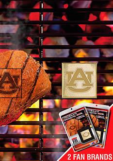 Fanmats NCAA Auburn Tigers Grilling Fan Brand 2-Pack