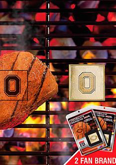 Fanmats NCAA Ohio State Buckeyes Grilling Fan Brand 2-Pack