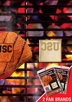 Fanmats NCAA USC Trojans Grilling Fan Brand 2-Pack