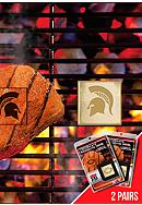 Fanmats NCAA Michigan State Spartans Grilling Fan