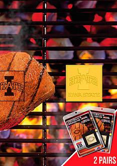 Fanmats NCAA Iowa State Cylones Grilling Fan Brand 2-Pack