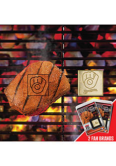 Fanmats MLB Milwaukee Brewers Grilling Fanbrand 2-Pack