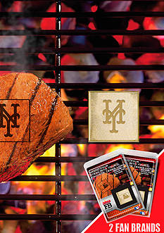 Fanmats MLB New York Mets Grilling Fan Brand 2-Pack