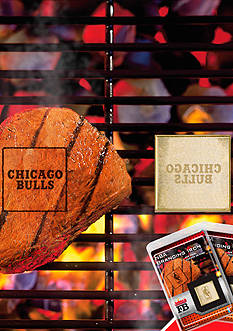 Fanmats NBA Chicago Bulls Grilling Fan Brand 2-Pack
