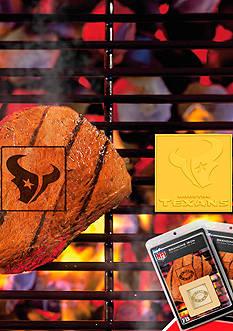 Fanmats NFL Houston Texans Grilling Fan Brand 2-Pack