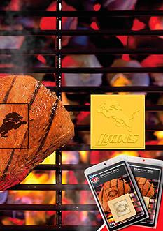 Fanmats NFL Detroit Lions Grilling Fan Brand 2-Pack