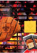 Fanmats NFL New Orlean Saints Grilling Fan Brand