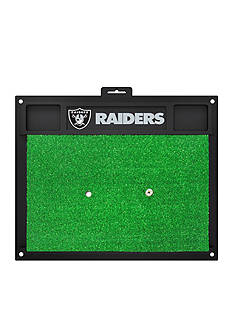 Fanmats NFL Oakland Raiders Golf Hitting Mat