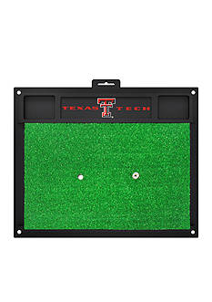 Fanmats NCAA Texas Tech Red Raiders Golf Hitting Mat