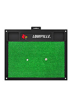 Fanmats NCAA Louisville Cardinals Golf Hitting Mat