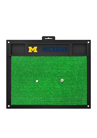 Fanmats NCAA Michigan Wolverines Golf Hitting Mat