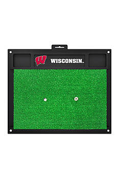 Fanmats NCAA Wisconsin Badgers Golf Hitting Mat