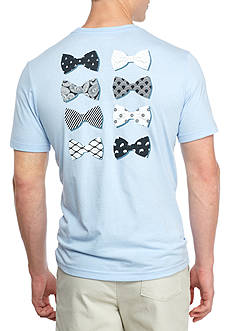 Crown & Ivy™ Short Sleeve Bowties Graphic Tee