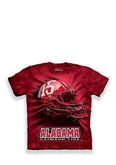 The Mountain Alabama Crimson Tide Breakthrough Helmet T-Shirt