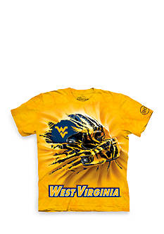 The Mountain West Virginia Mountaineers Breakthrough Helmet T-Shirt