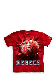 The Mountain Ole Miss Rebels Breakthrough Football T-Shirt