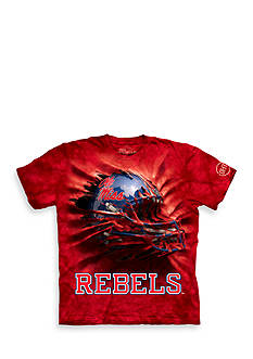 The Mountain Ole Miss Rebels Breakthrough Helmet T-Shirt