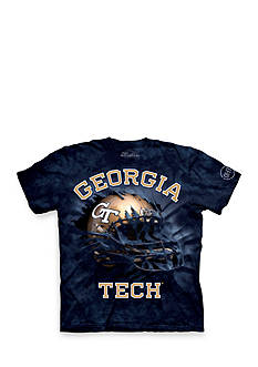 The Mountain Georgia Tech Yellow Jackets Breakthrough Helmet T-Shirt