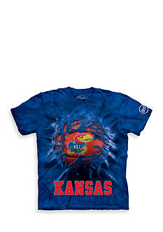 The Mountain Univeristy of Kansas Jayhawks Breakthrough Big Jay Basketball T-Shirt