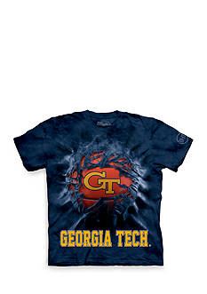 The Mountain Georgia Tech Yellow Jackets Breakthrough Basketball T-Shirt