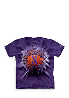 The Mountain Northwestern Wildcats Breakthrough Basketball T-Shirt