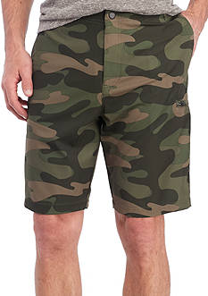 Red Camel Camo Hybrid Shorts