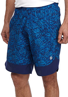 SB Tech® 9 in Printed Woven Shorts