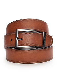 Kenneth Cole Reaction 1.25-in Feather Edge Casual Reversible Belt