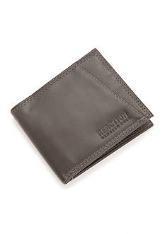 Kenneth Cole Reaction RFID Kevin Slim Zipper Wallet with Billfold