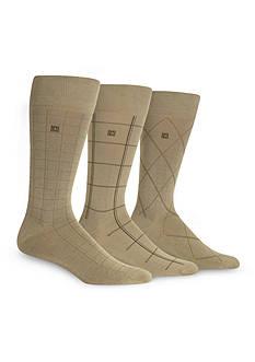 Chaps Windowpane Dress Socks 3-Pack