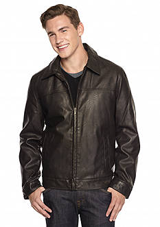 Tommy Hilfiger® Faux Leather Jacket