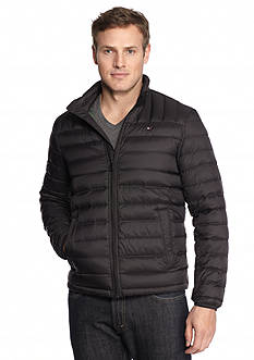 Tommy Hilfiger Big & Tall Packable Natural Down Jacket