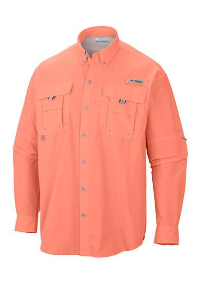 Columbia big tall bahama ii long sleeve shirt belk for Toddler columbia fishing shirt