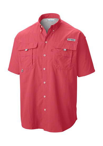 Columbia big tall pfg bahama ii short sleeve shirt belk for Toddler columbia fishing shirt