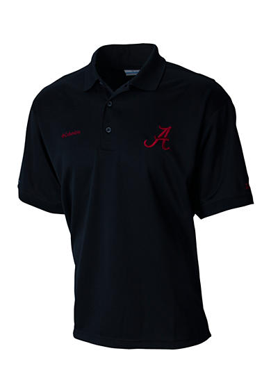 Columbia perfect cast alabama crimson tide polo shirt belk for Alabama crimson tide polo shirts
