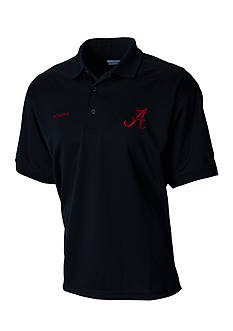Columbia Short Sleeve Perfect Cast Alabama Crimson Tide Polo Shirt
