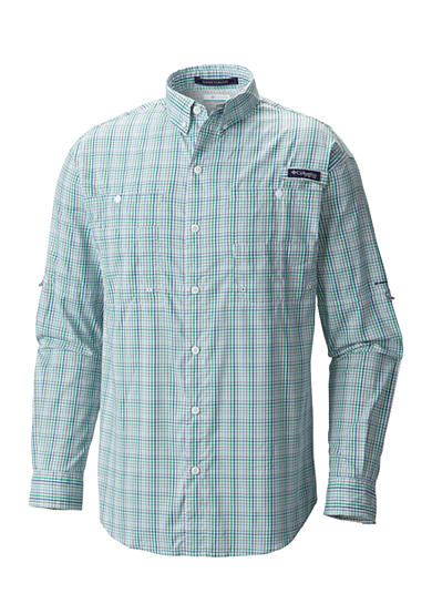 Columbia Pfg Super Tamiami Long Sleeve Button Down Shirt