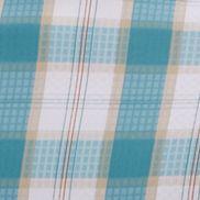 Orange Men's Activewear: Deep Marine Gingham Columbia PFG® Super Tamiami Long Sleeve Button Down Shirt