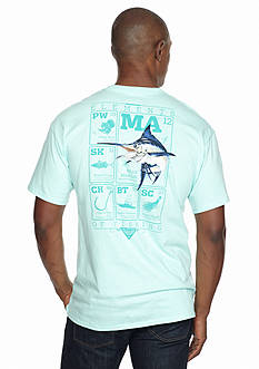 Columbia PFG Elements Marlin Graphic Tee