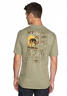 Columbia™ PHG Elements™ Whitetail Short Sleeve Graphic Tee