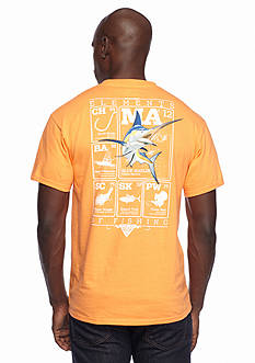 Columbia™ PFG Elements Marlin II Short Sleeve Graphic Tee