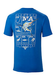 Columbia Big & Tall PFG Elements Marlin™ Short Sleeve Graphic Tee